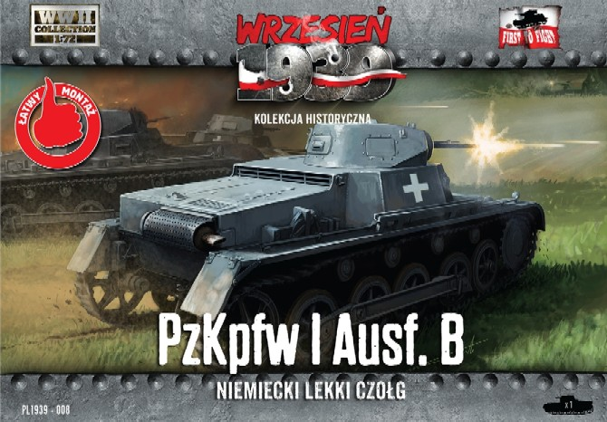 WWII PzKpfw I Ausf B German Light Tank