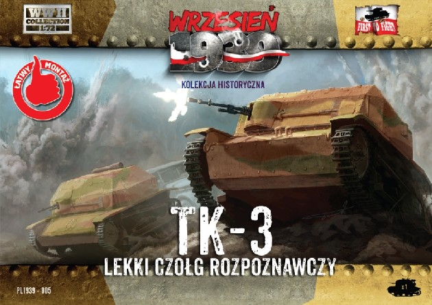 WWII TK3 Polish Light Recon Tank