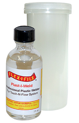 Plast-I-Weld Solvent Cement 2oz. Bottle