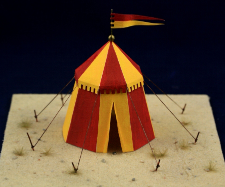 Medieval Tents Round  - ONLY 2 AVAILABLE