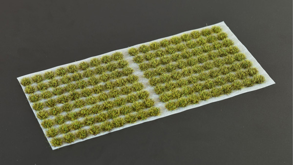 2mm Grass Tufts - Dark Moss Small