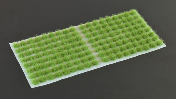 4mm Grass Tufts - Green Small