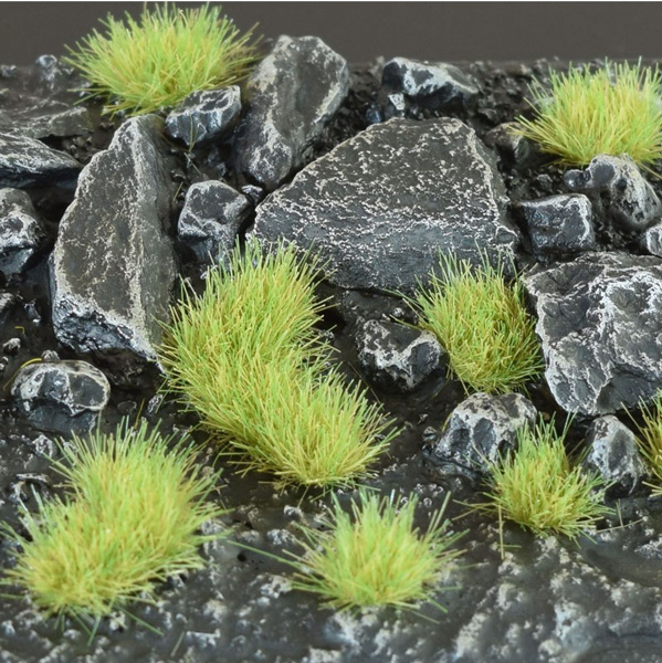4mm Grass Tufts - Light Green