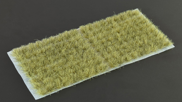 6mm Grass Tufts - Light Brown Small