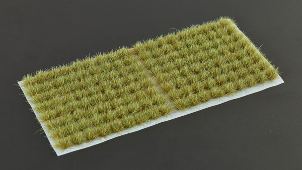 6mm Grass Tufts - Mixed Green Small
