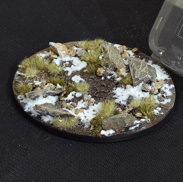 Battle Ready Bases - Winter Oval Bases 120mm (x1)