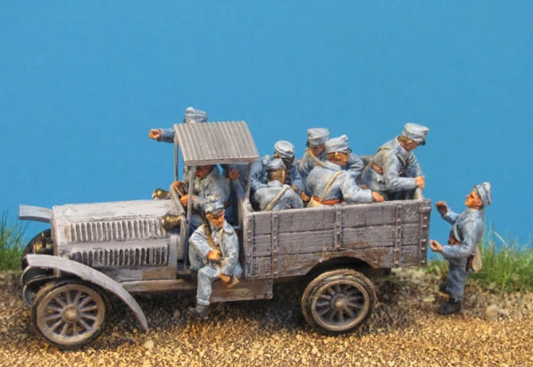 KUK Austrian Driver and Artillery Crew for M9 Tractor