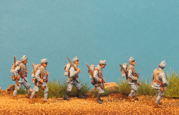 KUK Infantry on the March
