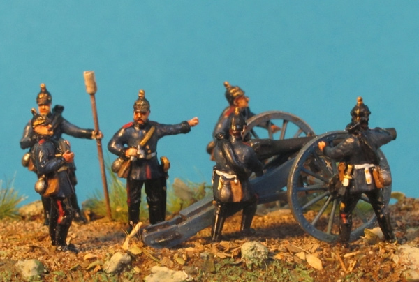 Prussian Artillery 1870/71 - Franco-Prussian War