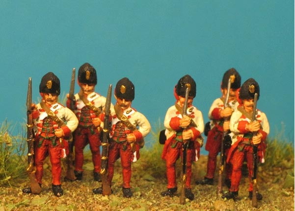 7 Years War: Austrian Habsburgs- Hungarian Grenadiers at the Ready
