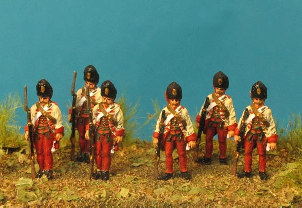 7 Years War: Austrian Habsburgs- Hungarian Grenadiers at Rest