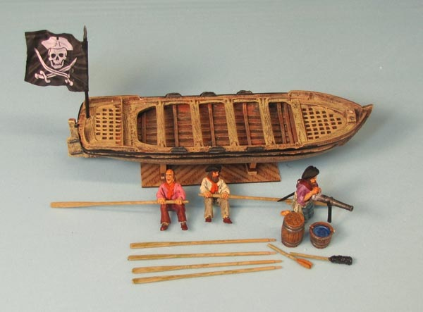 Pirates of the Caribbean Boat - Full Hull Model