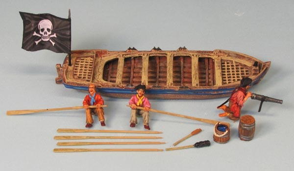 Pirates of the Caribbean Boat - Waterline Model