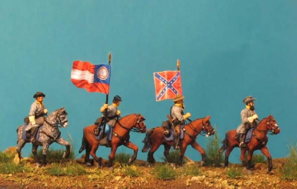 American Civil War- Virginia Cavalry Set 1 - Command Group