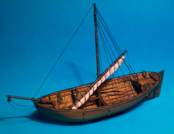 Kalmar I - Coastal Sailingship of the 13th - 14th century - ONLY 1 AVAILABLE AT THIS PRICE