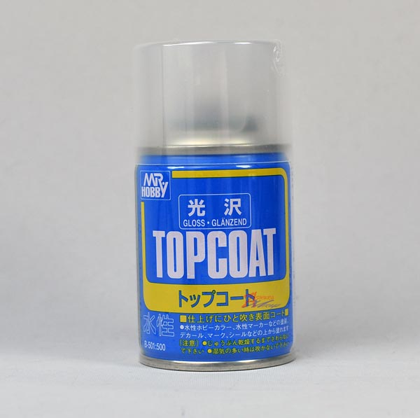 Mr. Topcoat Gloss 86ml (Spray)
