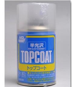 Mr. Topcoat Semi-Gloss 86ml (Spray)