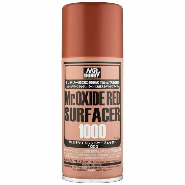 Mr. Oxide Red Surfacer 1000 - Spray- 170ml