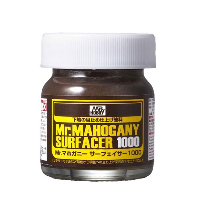 Mr Mahogany Surfacer 1000 - Brush-On - 40ml