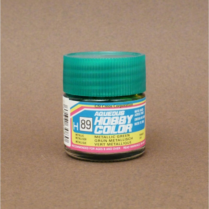 Metallic (Gloss) Metallic Green - Aqueous/Acrylic Paint 10ml