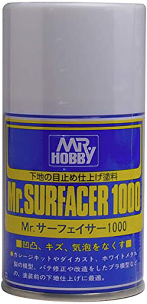 Mr. Surfacer 1000- Gray - Spray - 100ml