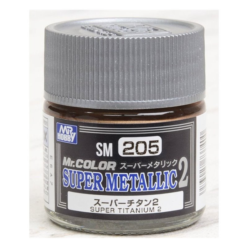 Super Metallic 2 Titanium Lacquer 10ml Bottle