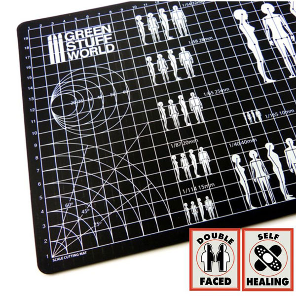 Double Sided Scale Cutting Mat