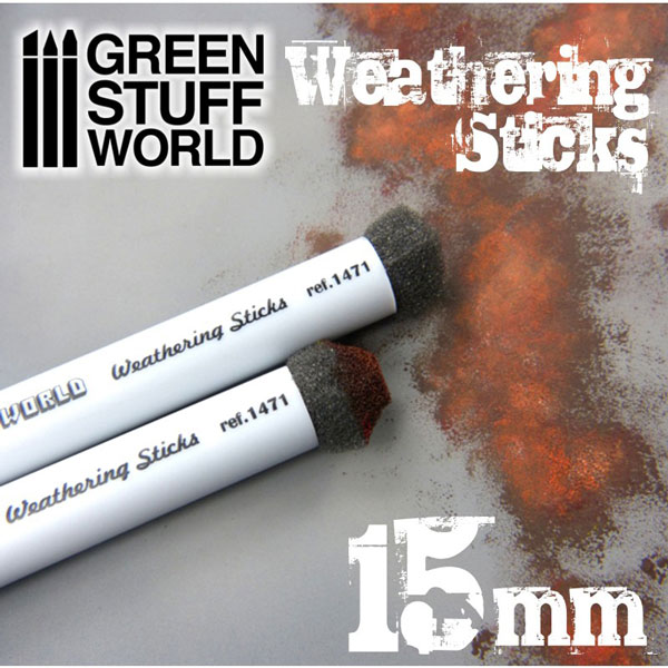 Weathering Brushes 15mm