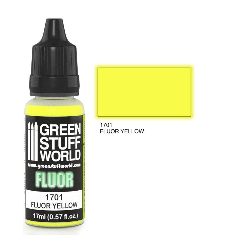 Fluor Paint - Yellow
