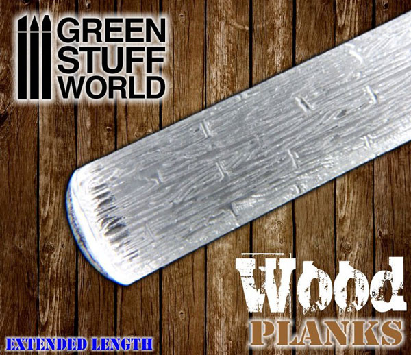 Rolling Pin - Wood Planks