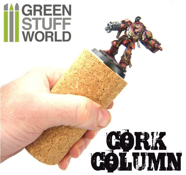 Sculpting Cork Column for Armatures