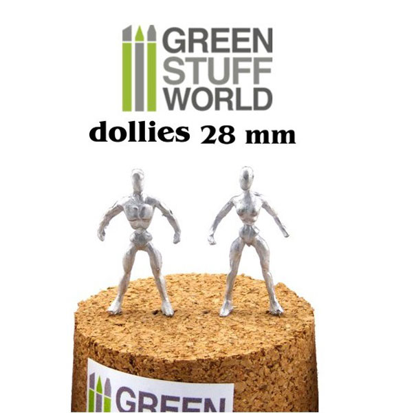 Flexible Armatures in 28mm