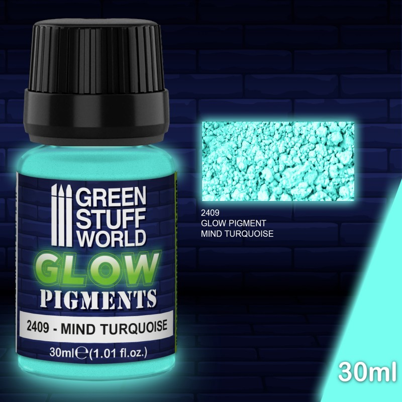 Pigment - Glow in the Dark - Mind Turquoise