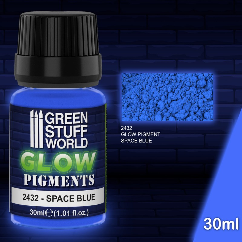 Pigment - Glow in the Dark - Space Blue