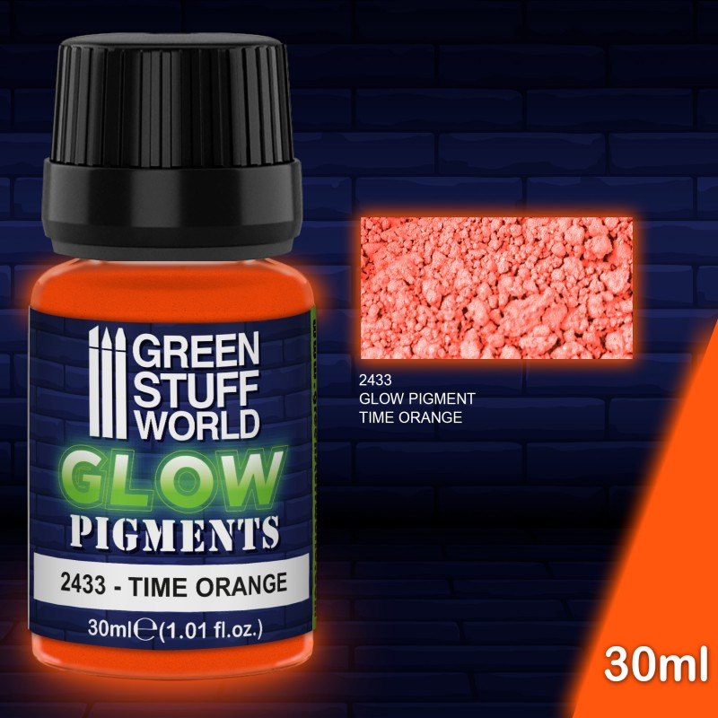 Pigment - Glow in the Dark - Time Orange
