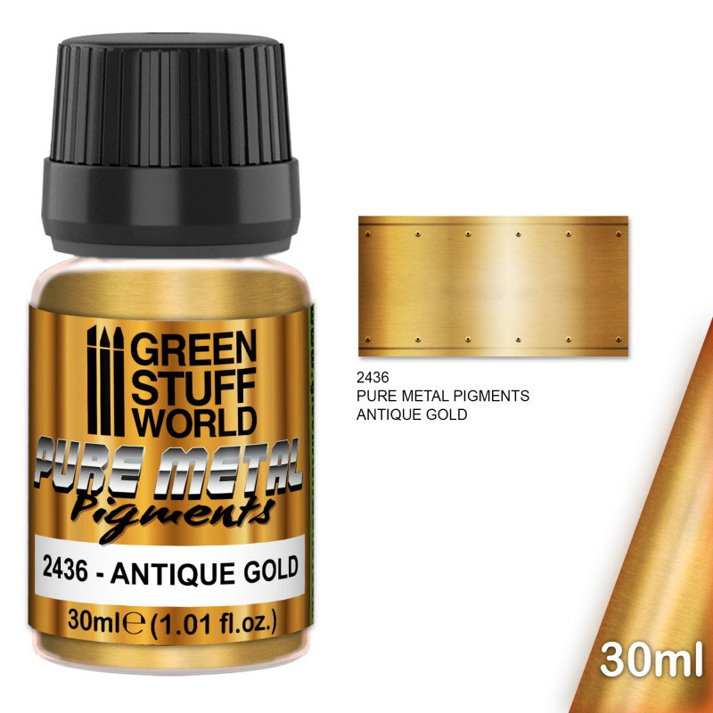 Pure Metal Pigments - Antique Gold