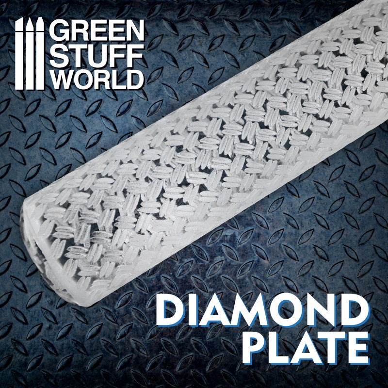Rolling Pin - Diamond Plate