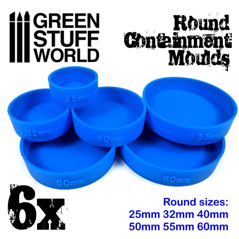 Round Containment Moulds