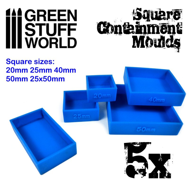 Square Containment Mould