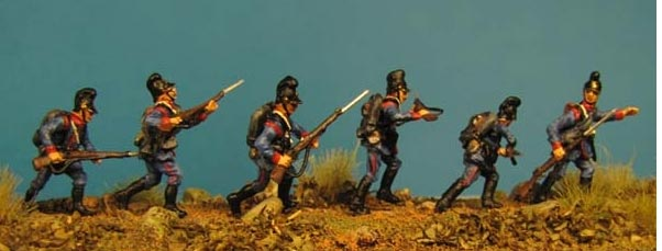 Franco-Prussian War 1870/71: Bavarian Infantry Set 1