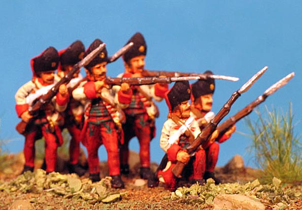 7 Years War: Austrian Habsburgs- Hungarian Grenadiers Firing Line no. 2