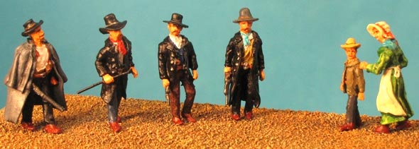 Old West - Tombstone Set 1