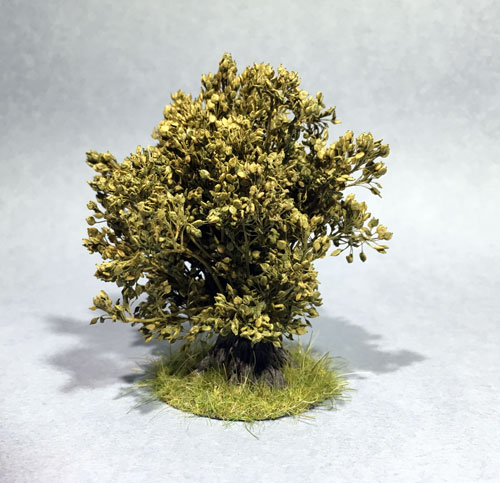 Scenic & Diorama: Bush with Grass Base