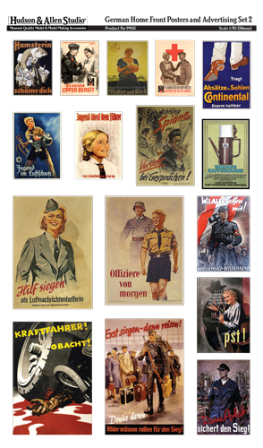 German Home Front Posters and Advertising 2