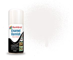 150ml Enamel Matt Varnish Spray