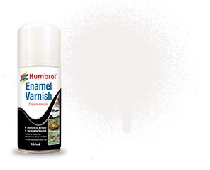 150ml Enamel Satin Varnish Spray