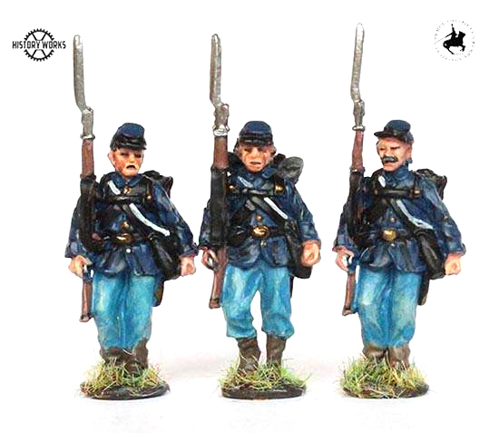 Union Infantry Marching Set #2