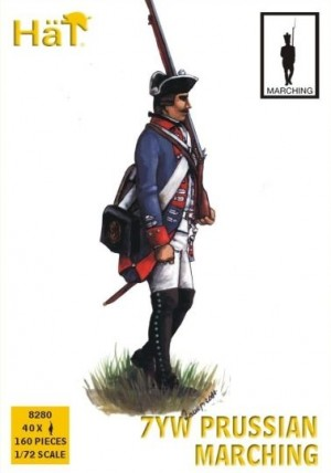 7 Years War: Prussian Infantry Marching  - Picture 1 < 399
