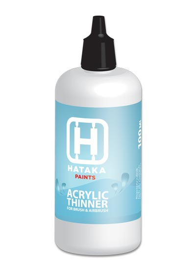 Hataka Acrylic Thinner 100ml Bottle