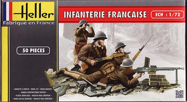 WWII French Infantry
